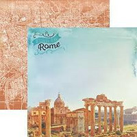 Paper House - When In Rome, Double-Sided Cardstock 12