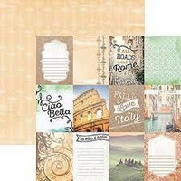 Paper House - Italy Tags, Double-Sided Cardstock 12