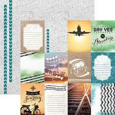 Paper House - Discover Tags, Double-Sided Cardstock 12
