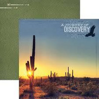 Paper House - Journey of Discovery, Double-Sided Cardstock 12