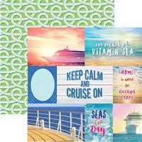 Paper House - Cruise Tags, Double-Sided Cardstock 12