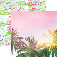 Paper House - Palm Trees, Double-Sided Cardstock 12