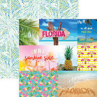 Paper House - Florida Tags, Double-Sided Cardstock 12