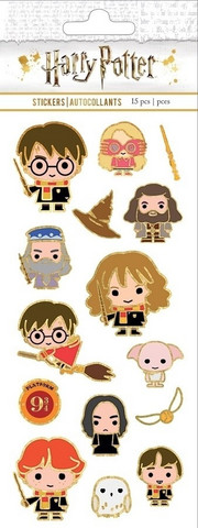 Paper House - Harry Potter™ Chibi Faux Enamel Stickers, Tarra-arkki