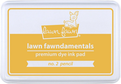 Lawn Fawn - Dye Ink, no. 2 pencil, Leimamustetyyny