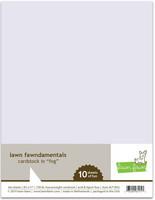 Lawn Fawn - Fog Cardstock 8,5