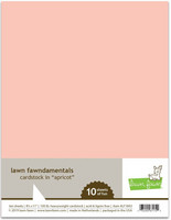 Lawn Fawn - Apricot Cardstock 8,5