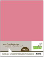 Lawn Fawn - Pencil Eraser  Cardstock 8,5