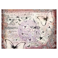 Prima Marketing - Finnabair Mixed Media Tissue Paper, Flutter