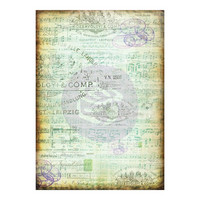 Prima Marketing - Finnabair Mixed Media Tissue Paper, Musica