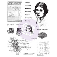 Prima Marketing - Finnabair Cling Stamps, Beautiful Story, Leimasetti