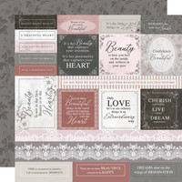 Kaisercraft - Rosabella Double-Sided Cardstock 12