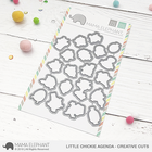 Mama Elephant - Little Chickie Agenda, Creative Cuts, Stanssisetti