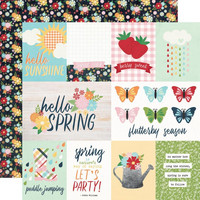 Simple Stories - Springtime  Double-Sided Cardstock 12