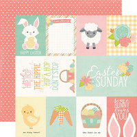 Simple Stories - Bunnies & Baskets Double-Sided Cardstock 12