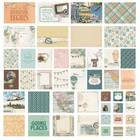 Simple Stories - Sn@p! Card Pack Simple Vintage Traveler, 48 osaa