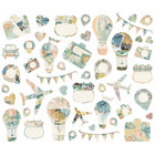 Simple Stories - Simple Vintage Traveler Bits & Pieces Die-Cuts, Collage, 46 osaa