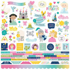 Simple Stories - Little Princess Cardstock Stickers 12