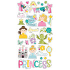 Simple Stories - Little Princess Chipboard Stickers 6