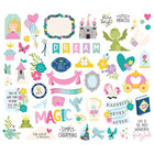 Simple Stories - Little Princess Bits & Pieces Die-Cuts, 53 osaa