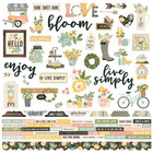 Simple Stories - Spring Farmhouse Cardstock Stickers 12