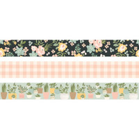 Simple Stories - Spring Farmhouse Washi Tape, 3 rullaa