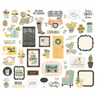 Simple Stories - Spring Farmhouse Bits & Pieces, 50 osaa