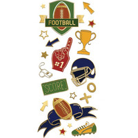 Paper House - Sports Faux Enamel Stickers, Tarra-arkki
