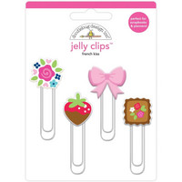 Doodlebug - Jelly Clips, French Kiss, 4 kpl