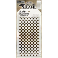 Tim Holtz - Layered Stencil, Gradient Dot