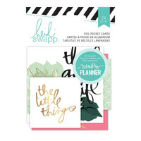 Heidi Swapp - Hello Beautiful, Pocket Cards, 24kpl