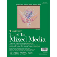 Strathmore - Toned Mixed Media Paper - Toned Tan 9