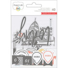 Project Life - Ephemera Die-Cut Shapes, Click Edition, 40 osaa