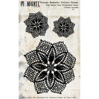 49 And Market - Vintage Remnants Stamp Set, Doilies