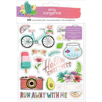 American Crafts - Amy Tan Stay Sweet Sticker Book, Tarrasetti