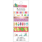 American Crafts - Amy Tan Stay Sweet Washi Tape, Teippisetti, 8 rullaa