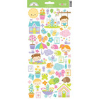 Doodlebug - Simply Spring Icons, Cardstock Stickers