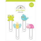 Doodlebug - Simply Spring, Jelly Clips, 4 kpl