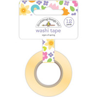 Doodlebug - Signs Of Spring, Washi Tape, 15mmX11m