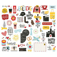 Simple Stories - Say Cheese 4 Bits & Pieces Die-Cuts, 54 osaa
