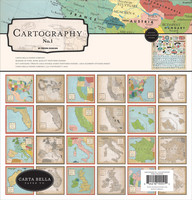 Carta Bella - Cartography No.1, Collection Kit 12