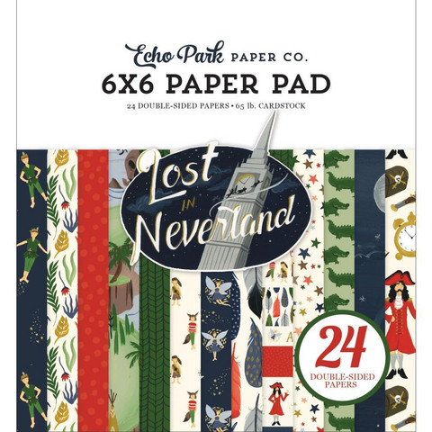 Echo Park - Lost In Neverland Double-Sided Paper Pad 6