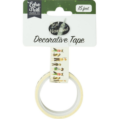 Echo Park - Lost In Neverland Decorative Tape, 15mmx4,5m, Lost Boys