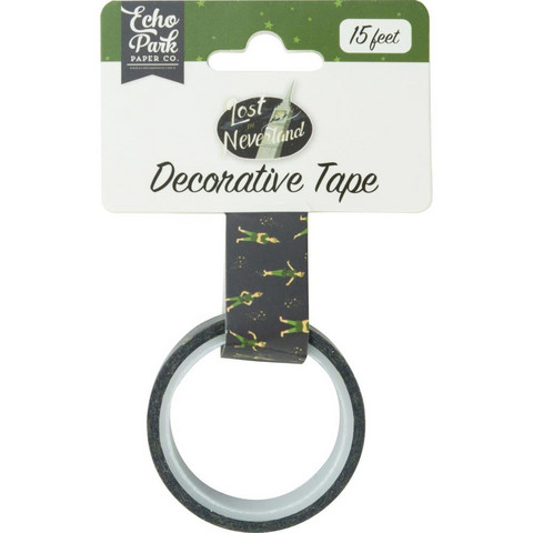Echo Park - Lost In Neverland Decorative Tape, 15mmx4,5m, Peter Pan
