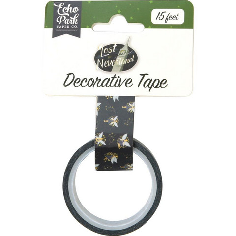 Echo Park - Lost In Neverland Decorative Tape, 15mmx4,5m, Tinkerbell
