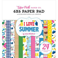 Echo Park - I Love Summer Double-Sided Paper Pad 6