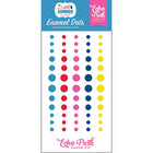 Echo Park - I Love Summer Enamel Dots, 60 kpl