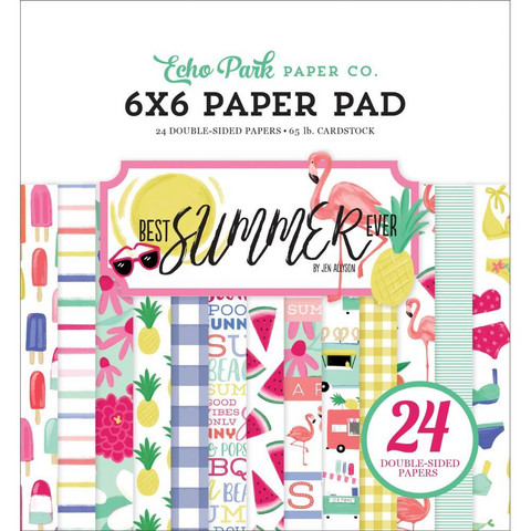 Echo Park - Best Summer Ever Double-Sided Paper Pad 6