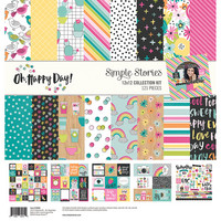 Simple Stories - Oh Happy Day, Collection Kit 12