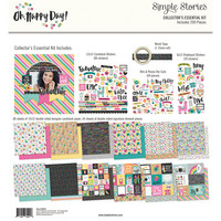 Simple Stories - Oh Happy Day Collector's Essential Kit 12